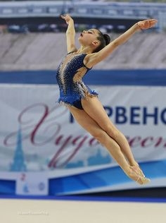 Lala Kromarenko #rgythmic_gymnastics #gymnastica #beauty
