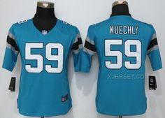 http://www.xjersey.com/nike-panthers-59-luke-kuechly-blue-women-limited-jersey.html Only$38.00 #NIKE PANTHERS 59 LUKE KUECHLY BLUE WOMEN LIMITED JERSEY Free Shipping!