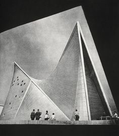 Iannis Xenakis and Le Corbusier Philips Pavilion, 1958
