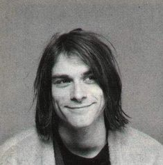 Kurt Cobain would be 45 now. Here's a collection of pics of him looking happy.