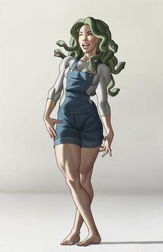 Medusa by Georgel-McAwesome on Deviantart