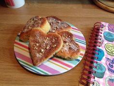 Sultana sponge sprinkled with pecan spiced sugar