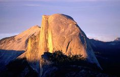 5. CLIMB THE HALF DOME Where: Yosemite National Park, California, U.S.  Known for its distinct shape, this granite dome is a popular destination among hiking enthusiasts. Climb all the way up and witness a breathtaking view of the Yosemite valley down below.
