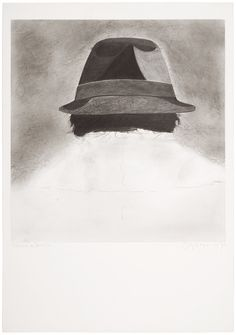 amare-habeo:      Eduardo Arroyo (Spanish, 1937) Eduardo in Berlin, 1975 Pencil on paper, 73 x 51 cm