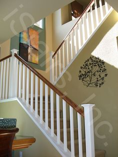 Paint grade with beech rail square
