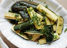This roast courgettes with lemon recipe makes a great side dish for a shepherd's pie. Add lemon for a zingy kick