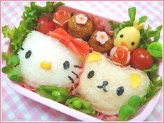 Hello Kitty bento. cute