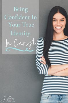 Being Confident in Your True Identity in Christ Christian Marriage, Christian Women, Christian Living, Christian Faith, Christian Quotes, Identity In Christ, True Identity, Spiritual Encouragement, Christian Encouragement
