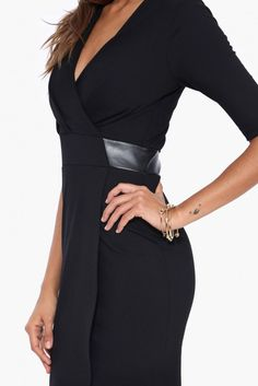 Karly Little Black Dress in Black | Necessary Clothing