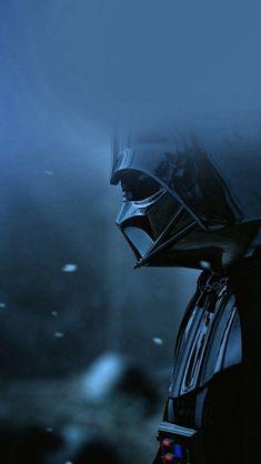 Starwars Darth Vader Art Film Blue #iPhone #5s #wallpaper
