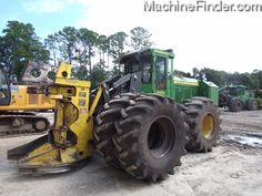 Used Forestry Feller Bunchers - John Deere MachineFinder