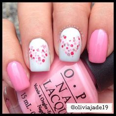 Polishes: OPI Chic From Ears To Tail, OPI My Boyfriend Scales Walls, OPI Come To Poppy, OPI Sweetheart, CG Hello Gorgeous