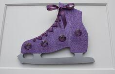 Figure Skating Medal Holder. $49.99, via Etsy.
