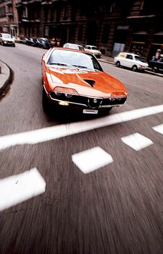 ..._The Alfa Romeo Montreal is a 2+2 coupé produced from 1970 to 1977