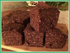 Este budín de nueces, chia y chocolate no lleva ni harina ni lácteos. Es delicioso y puede también hacerse en moldes de muffins o cupcakes, o como torta.