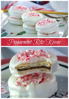 Peppermint Ritz Kisses | www.dadwhats4dinner.com