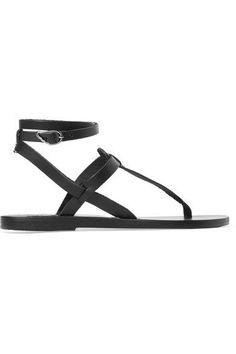 ANCIENT GREEK SANDALS | Estia leather sandals #Shoes #Sandals #Flat #ANCIENT GREEK SANDALS