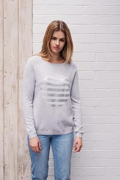 Studio, New Look, Jumper, Turtle Neck, Spring Summer, Stripes, Knitting, Sweaters, Cotton