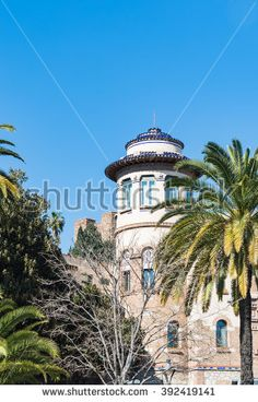 Cupola with windows in Malaga Spain Cute old building with cupola and windows surrounded by palm trees in Malaga Spain Malaga Spain, Places In Europe, Old Building, Spain Travel, Palm Trees, Photo Editing, Royalty Free Stock Photos, Windows, Mansions
