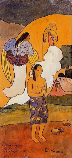The encounter- Paul Gauguin - WikiArt.org