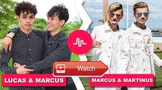 Lucas and Marcus Vs Marcus Martinus August Musically Video Compilation Hi guys please check our new Lucas and Marcus Vs Marcus Martinus Musically Compilation Compilation Thanks for watch Playlist Creator, Edm, Guys, Watch, Check, Youtube, Movies, Movie Posters, Music