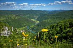 KOLPA RIVER, #Slovenia - the #Kozice viewpoint offers a great view of the #Kolpa river valley. (photo: Tomo Jesenicnik) #ifeelsLOVEnia(4) Twitter