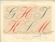 Gallery.ru / Фото #3 - Alphabet de la  Brodeuse - Dora2012