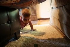 Crawling obstacle course