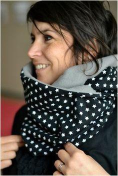 Snood - tutoriel - patron gratuit - femme - accessoire hiver