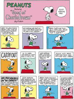 Peanuts by Charles Schulz for Nov 12, 2017 | Read Comic Strips at GoComics.com Peanuts Cartoon, Peanuts Snoopy, Peanuts Comics, Snoopy Family, Bridge Game, Snoopy Comics, Snoopy Wallpaper, Snoopy Quotes, Charlie Brown And Snoopy