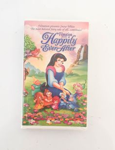 Happily Ever After VHS 1995 Filmation Clamshell by HOUSEOFURCHIN