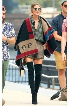 Today's Style Secret - Celebrity Style Tips - Harper's BAZAAR #streetstyle