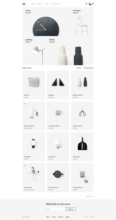 Modern Clean Shopping Website for Decor and Furniture. - Modern Clean Shopping Website for Decor and Furniture. Online Web Design, Ecommerce Website Design, Responsive Web Design, Ui Web, Web Design Company, Ui Ux Design, Interface Design, User Interface, Interior Design Website