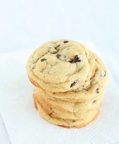 """Go now and take your favorite chocolate chip recipe that you """"love"""" and destroy it like it's a bad break up letter you never want to see again. I'm just kidding. But really you don't know what chocolate chip cookie love is until you have tried this recipe. I'm pretty confident these cookies are just that good that"""