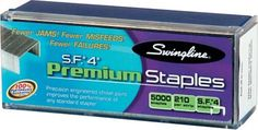 Shop Staples® for Swingline® S.F.® 4 Premium Staples, 1/4''.  $4.00