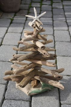 Driftwood Christmas Tree. To order email leona.coca@yahoo.com All sizes available