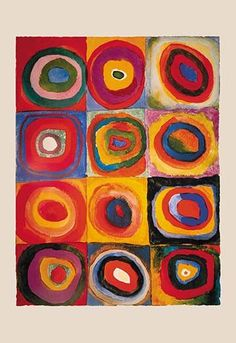 Amazon.com: Ravensburger Kandinsky, Color Study of Squares ...