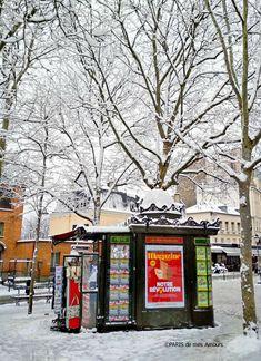 577dd295e247 Paris de mes Amours Le kiosque à journaux, de la place des Abesses Paris  18ème