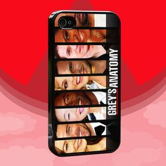 greys anatomy iPhone 4,4s,5,5s,5c samsung galaxy s3,s4 case on Etsy, $16.95