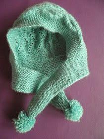 Esta creación, forma parte de la colección , cubrepañal, patucos y capucha con bufanda para bebé    EL PATRÓN es de lo más simple,un r...