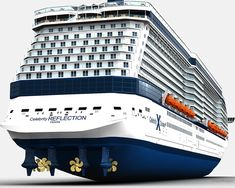 Excellent cruise ship celebrity reflection information is offered on our site. Check it out and you will not be sorry you did. Best Cruise, Cruise Tips, Cruise Travel, Cruise Vacation, Celebrity Cruises, Rms Queen Mary 2, Biggest Cruise Ship, Emergency Generator, Cruise Pictures