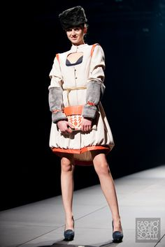 ŚLIWIŃSKA /fot. Łukasz Szeląg / #GalaAbsolwentów2013 #ASP #FashionWeekPoland #Lodz #FashionPhilosophy #FashionDesigners
