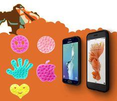 Handy Smartphone Silikon Antirutsch Pad Halter, Antirutsch Matte Anti Rutsch Saugnapfmatte