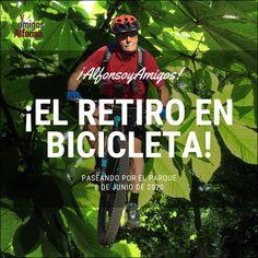 #AlfonsoyAmigos, #RutasMTB, #ElRetiro Mtb, Cypress Trees, Paths, Bicycles, Parks