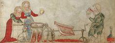 Washington Haggadah - Medieval Hebrew illuminated manuscripts, created in the 15th century by scribe and artist Joel ben Simeon.