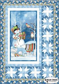 Snowy Friends Free Quilt Pattern by Wilmington Prints