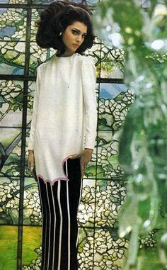 Benedetta Barzini, photo Gordon Parks,Vogue US March 1965