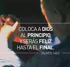 Dios siempre va primero, antes que todo! <3