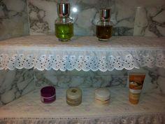 Sewed shelves Tray, Shelves, Home Decor, Shelving, Homemade Home Decor, Shelf, Open Shelving, Decoration Home, Board
