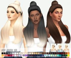 Miss Paraply: Ade Darma`s Faith Hairstyle Retextured • Sims 4 Downloads